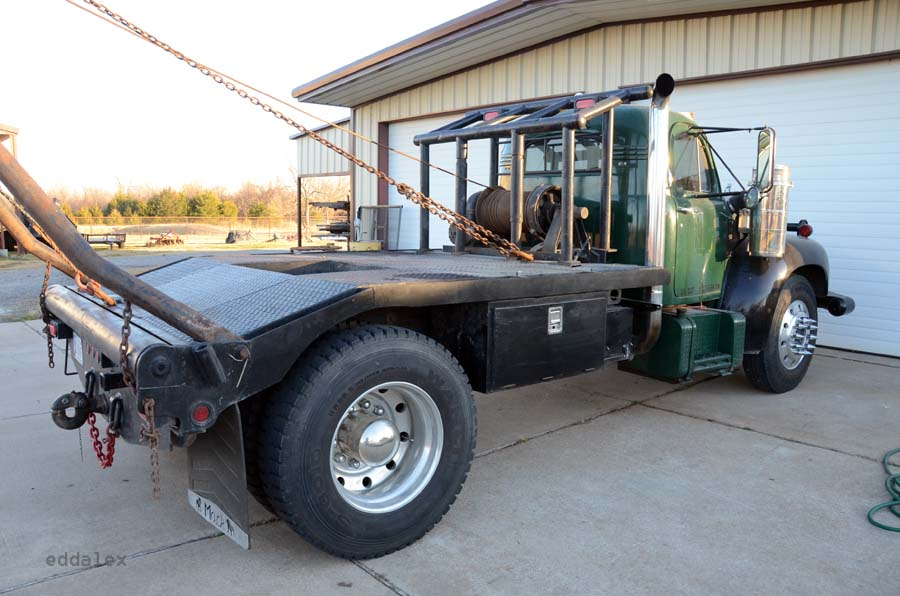 Flat Bed Gin Pole Truck For Sale.html | Autos Post