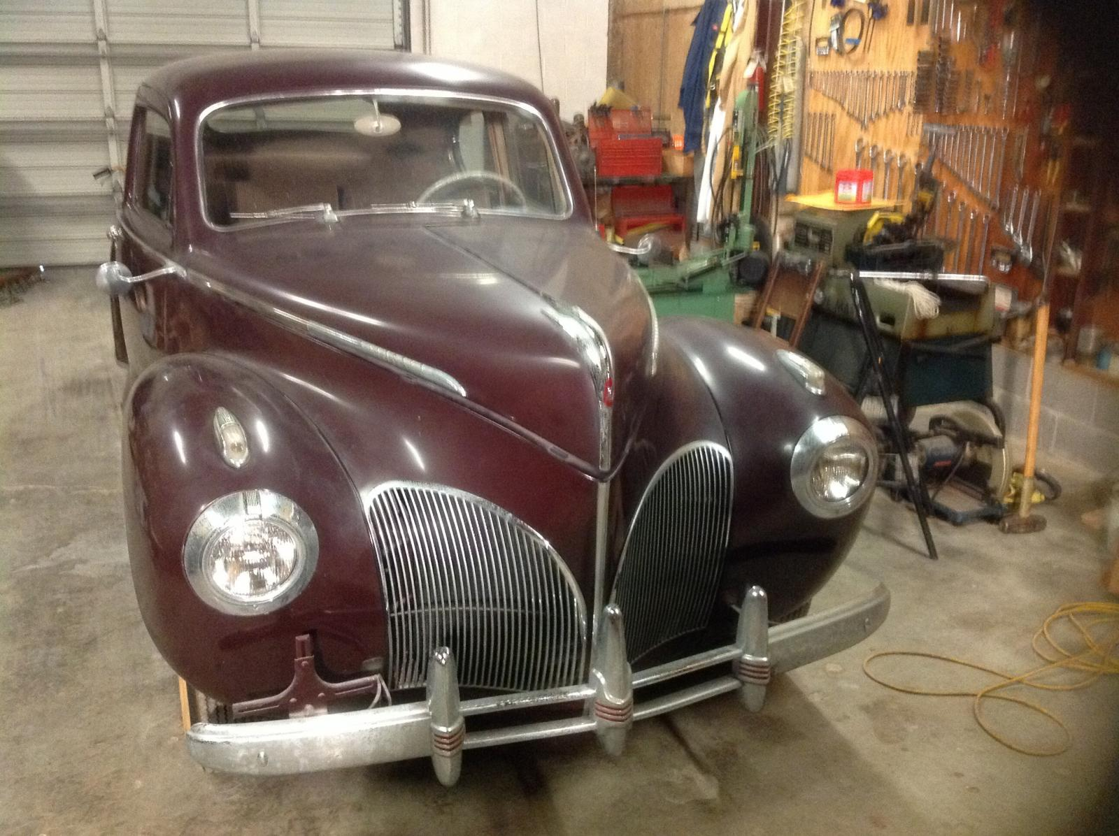 1941 Lincoln Zephyr Coupe Misc Items For Sale
