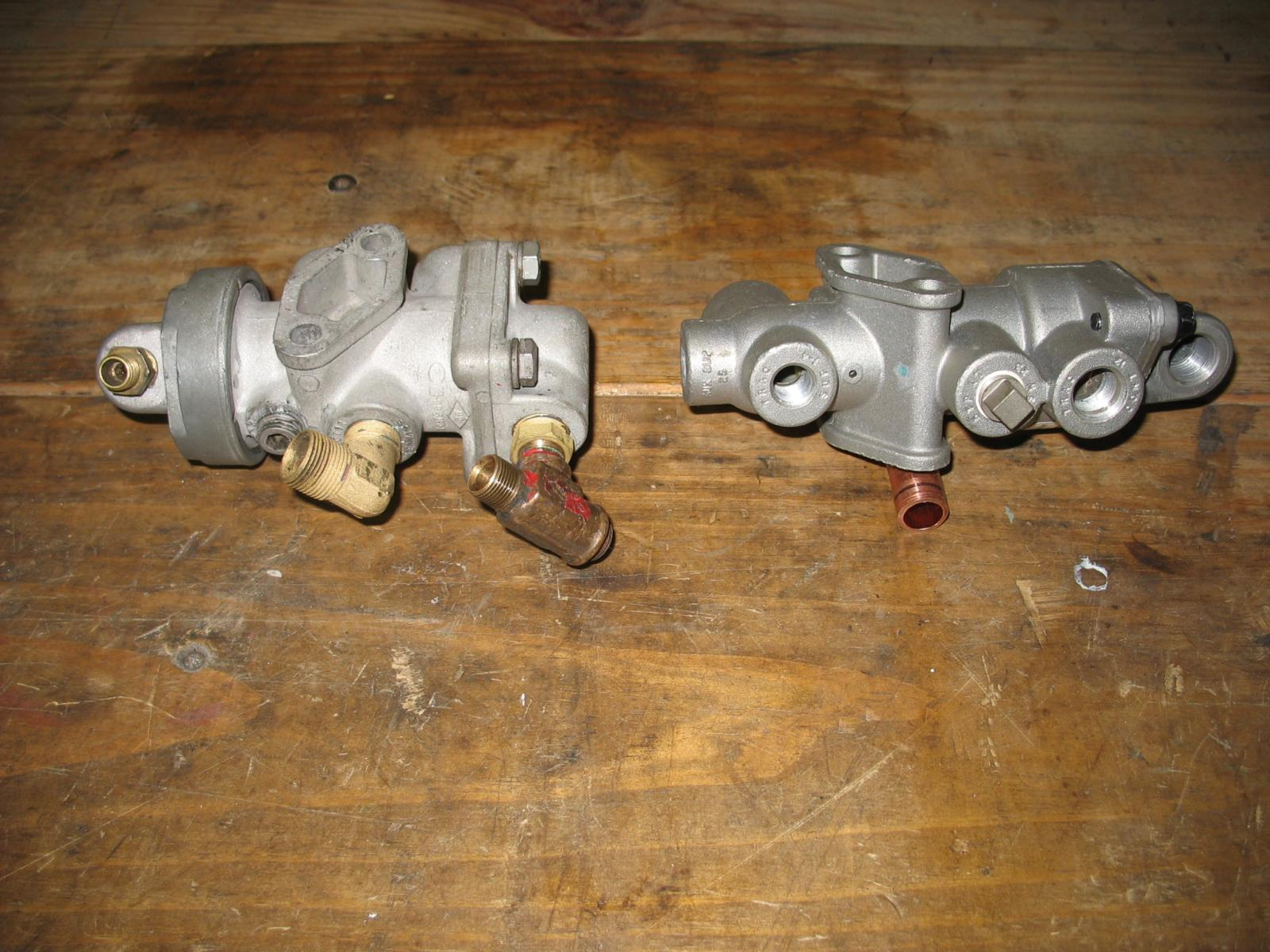 Mack Tractor Truck Air Valve On Firewall : Question on tractor protection valve air systems and
