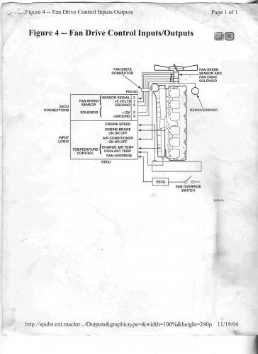 fan relay - electrical, electronics and lighting ... 2009 mack fuse diagram ch mack fuse diagram