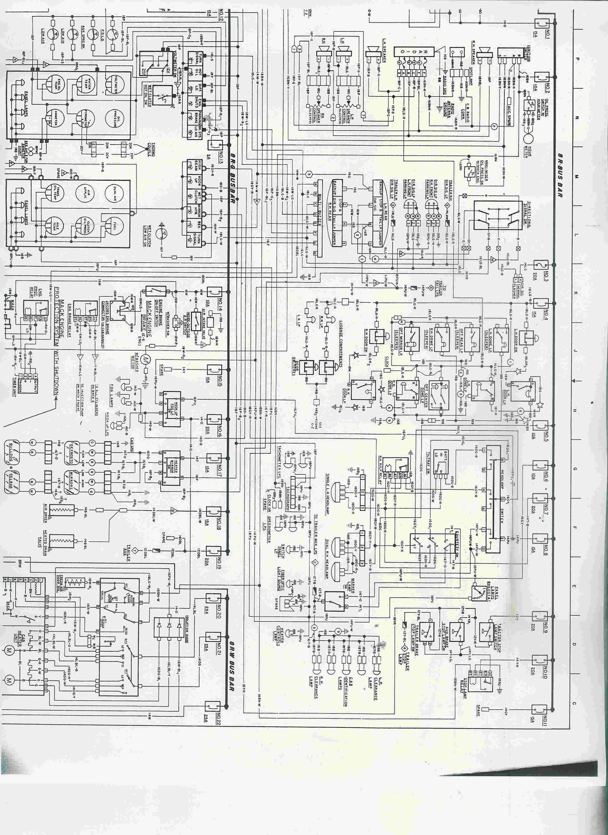 mack gu713 wiring diagram   25 wiring diagram images