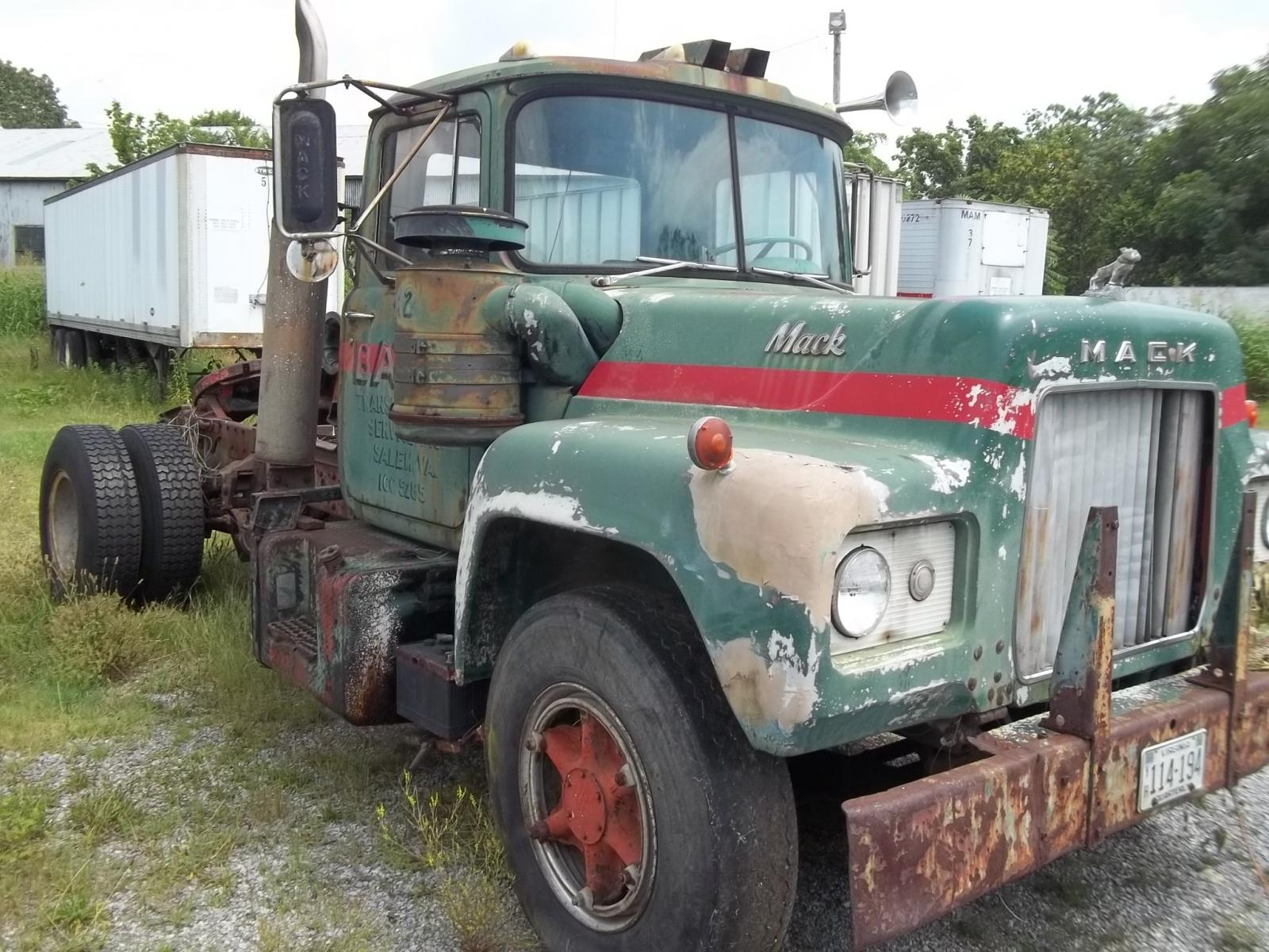1968 Mack Truck : Mack r trucks for sale bigmacktrucks