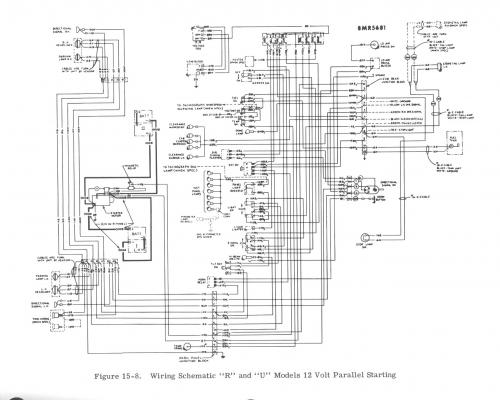r model 12 volt positive ground wiring diagram