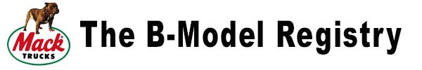 The B-Model Registry