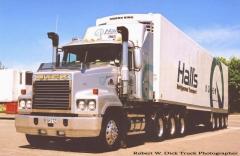 Halls Refrigerated Mack Trident