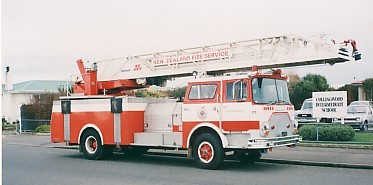 Invercargill CF with 30 m ladder