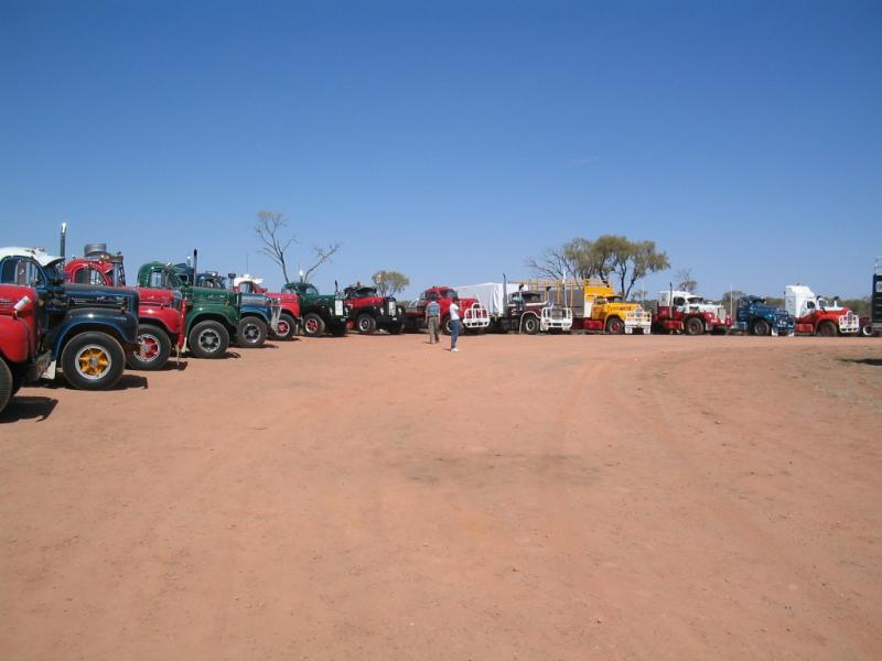 12. B Models at Alice Springs (Central Australia) 2005