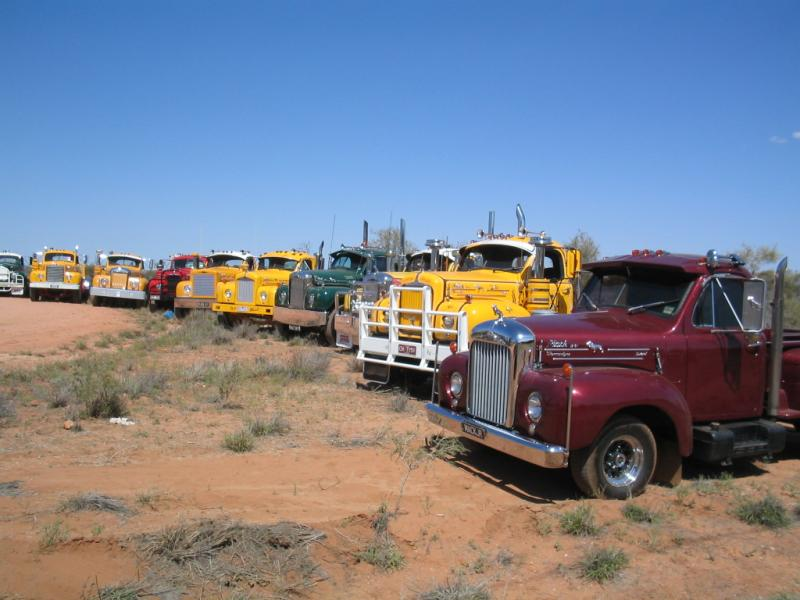 13. B Models at Alice Springs (Central Australia) 2005