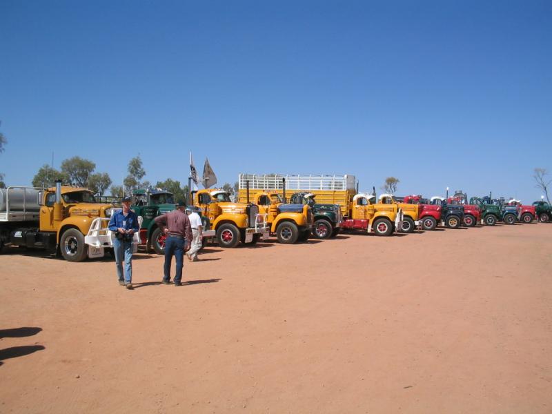 11. B Models at Alice Springs (Central Australia) 2005