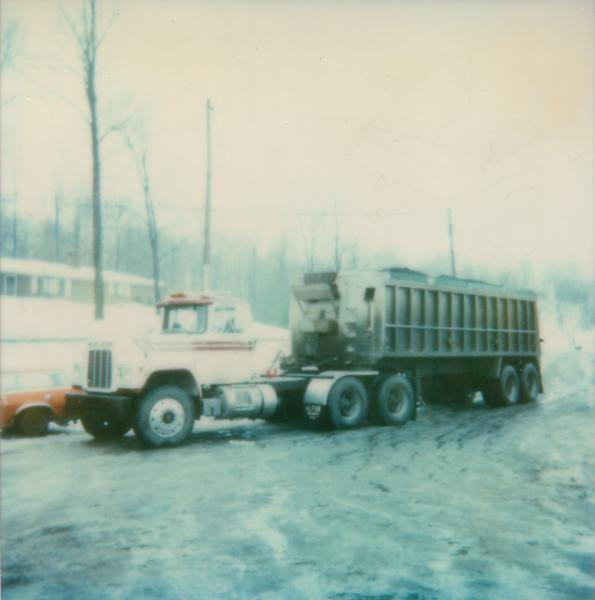 R-Model tractor and trailer