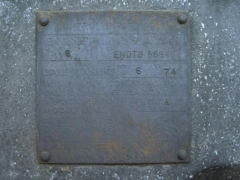 75' RL700L Engine tag