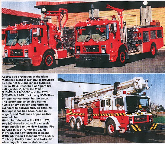 Mc mack Fire appliances