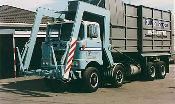 8x4 f series rubbish truck
