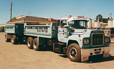 200hp R series, roadranger,1980