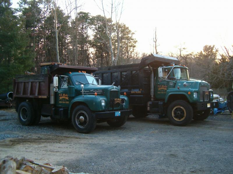 RS Martyn's working trucks