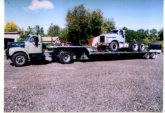 B66T with B615LST on Trailer