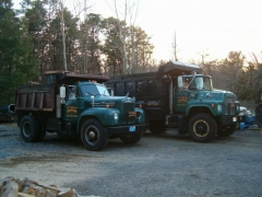 RS Martyn's working trucks