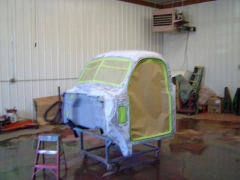 cab ready for sealer