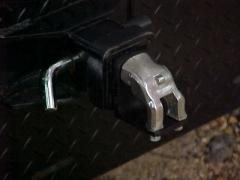 A funny receiver hitch plug