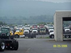 Trucks Awaiting Shipment