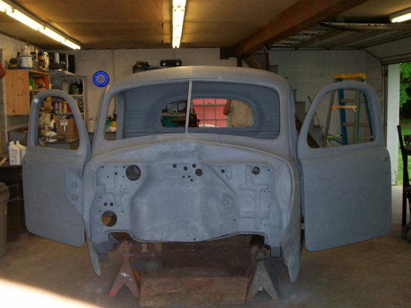 cab before paint