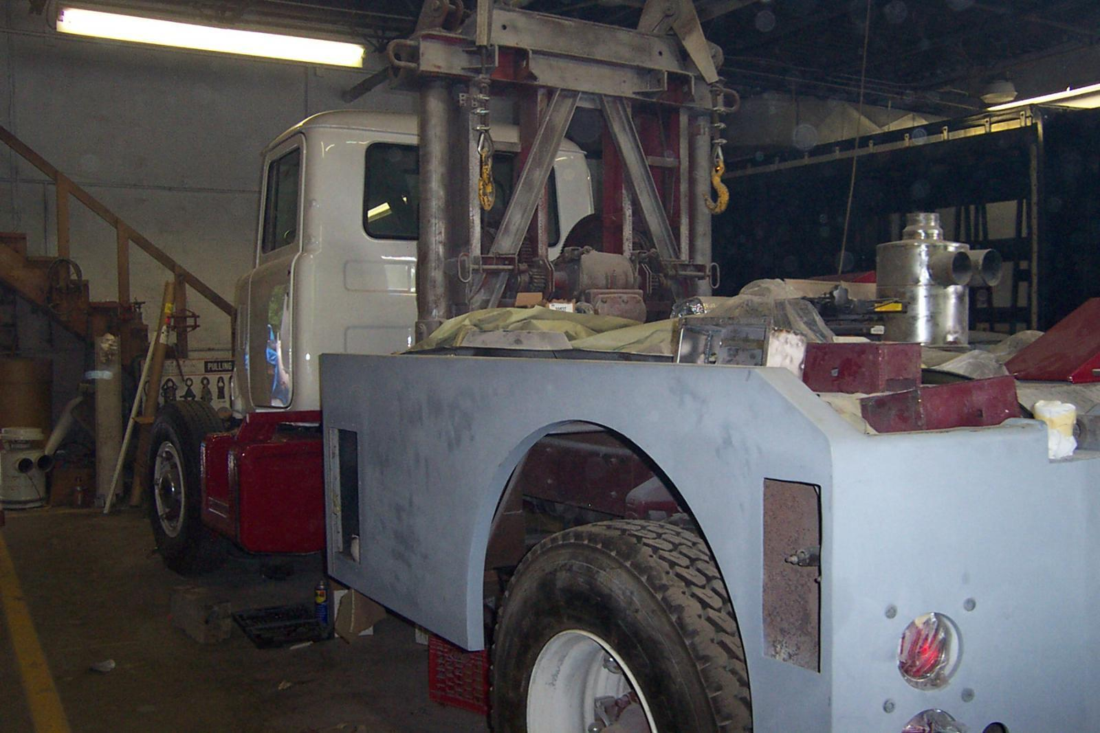 Work continues of the Wrecker