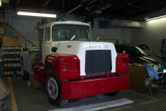 Restoration on the mack continues