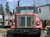 White Single Axle Tractor Trailer
