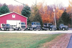TRUCKS OWNED BY  DOUG FETTERLY OF HARRISVILLE, NY