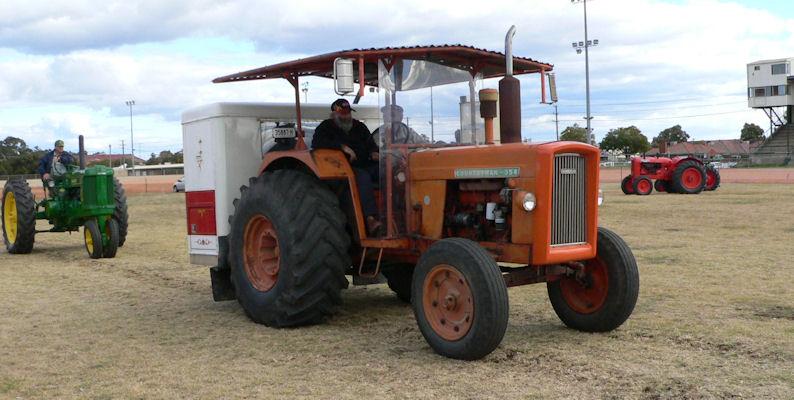 The wheat paddocks in australia are so big, the tractors hav