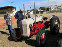 Ford tractor with V8 side valve engine