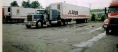 1996 Pete with McLane Trailer