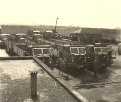 The companyfleet in 1955
