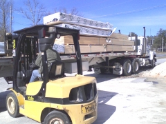 Getting a load of lumber