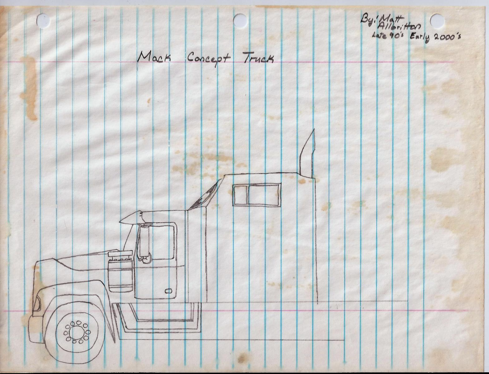 Mack Truck Concept : Mack concept truck bmt member s gallery click here to