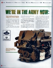 Page 1 of two French E-9 Tank and Transporter engine