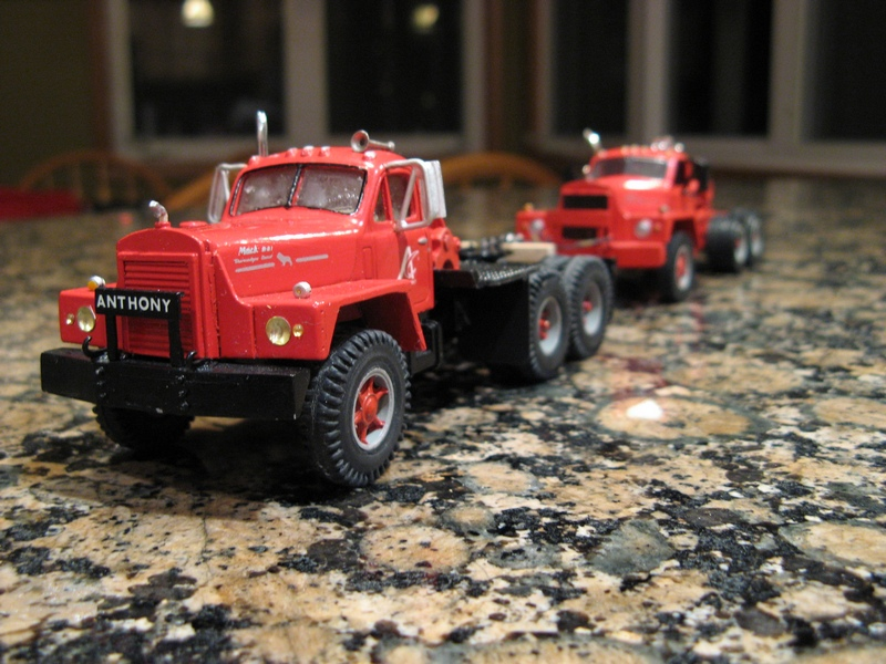 Mack B87SX, Don Mills truck, custom winch tractor