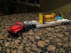 Mack B87SX, Don Mills truck, custom winch tractor