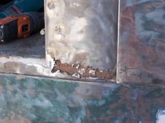 Lower passenger side door