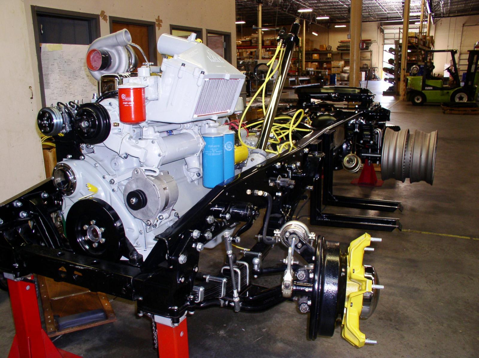 Nearly finished engine 2