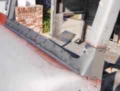New lower windshield valance