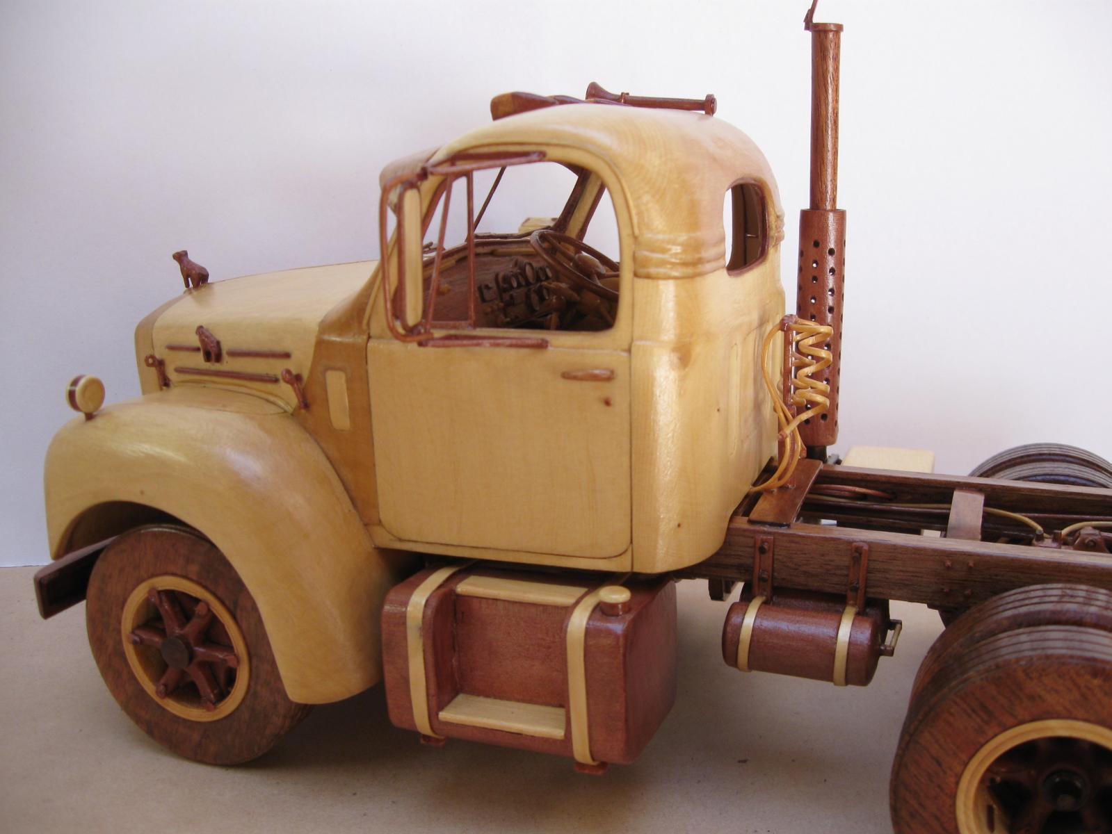 Gus fromOz model wood trucks - BMT Member's Gallery ...