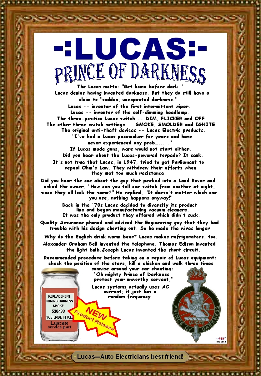 Lucas Prince of Darkness