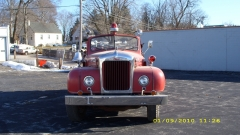 owner of a 1956 Open Cab Fire Engine from  Easton Mass.