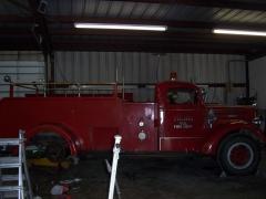 1945 model 45 mack firetruck