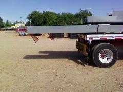 Long load overhang