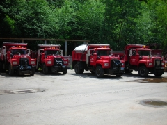 Trucks from my work