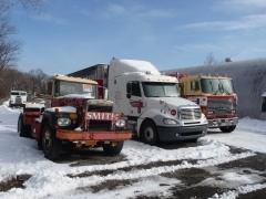 Biking, snow, trucks, Lath's, January 2011 043.JPG