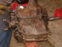 Rebuilt Transmission - Ready to be wirewheeled