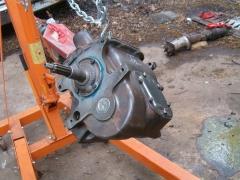 Rebuilt Transmission - almost ready for primer